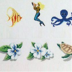 Tableau mosaïque pour piscine